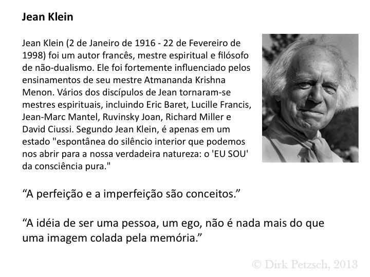 Jean Klein Advaita